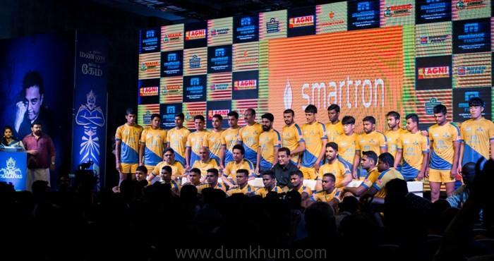 Kamal Hassan at Sachin Tendulkar's Pro Kabbadi league team Tamil Thalaivas launch 004