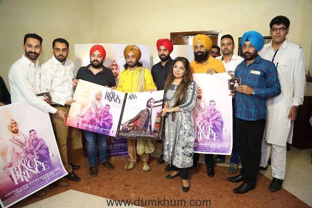 Music Launch of Satinder Sartaj's Hollywood film ' The Black Prince'--