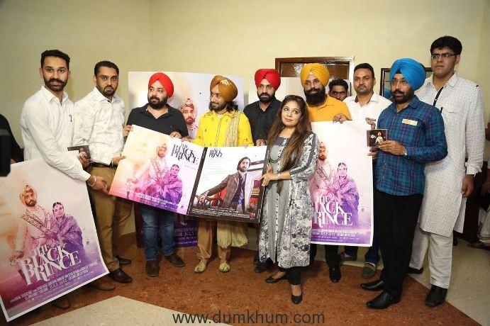 Music Launch of Satinder Sartaj's Hollywood film ' The Black Prince'