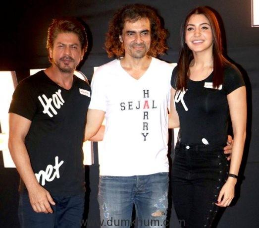 "Imtiaz Ali: ""Hope I'm able to justify SRK's talent in Jab Harry Met Sejal"""