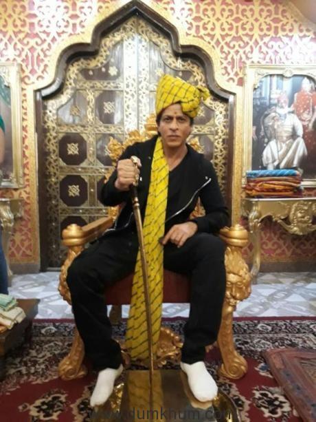Shah Rukh Khan's Tour de Rajasthan for Jab Harry Met Sejal