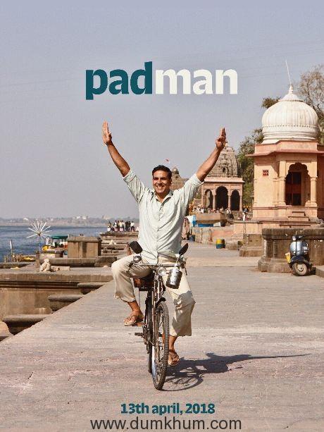 Akshay Kumar's Padman first look