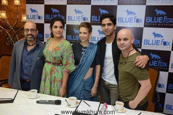 Bollywood actress Kalki Koechlin, Richa Chddha & Howard Rosemeyer -