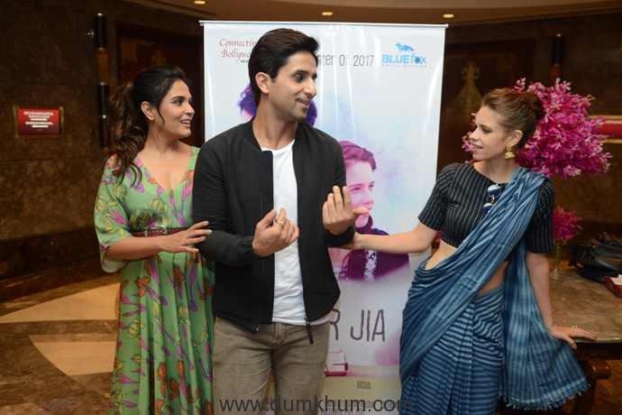 Bollywood actress Kalki Koechlin, Richa Chddha & Howard Rosemeyer 1