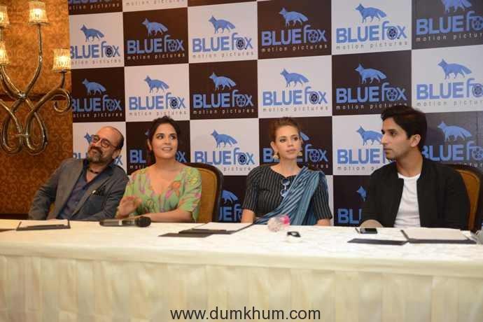 Bollywood actress Kalki Koechlin, Richa Chddha & Howard Rosemeyer