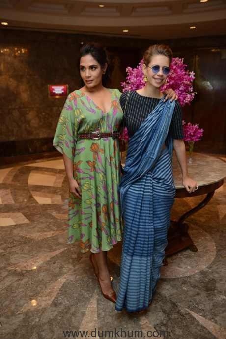 Bollywood actress Kalki Koechlin, Richa Chddha