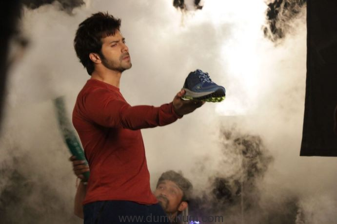Campus Shoes shoots Print and TVC Shoots with brand ambassador Varun Dhawan : Behind the scenes !