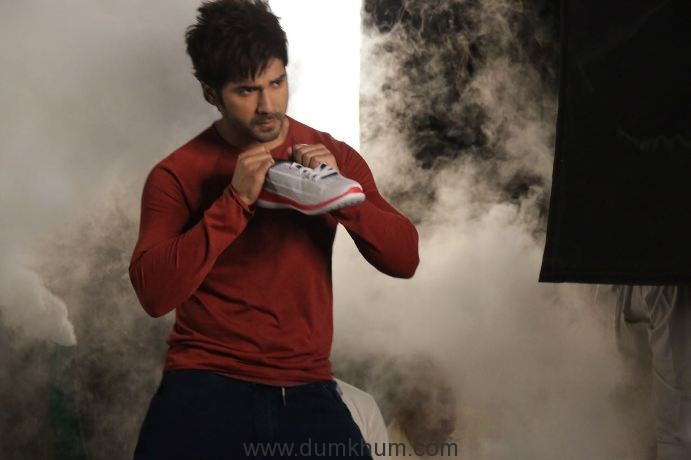Campus Shoes shoots its new TVC with Youth Icon Varun Dhawan-3