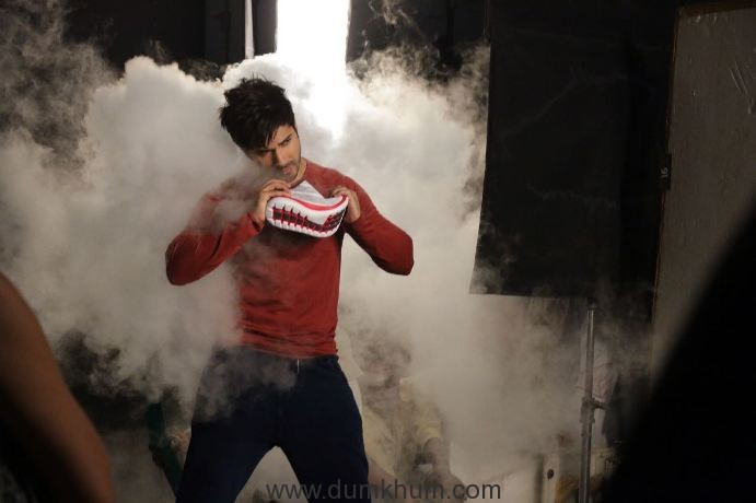 Campus Shoes shoots its new TVC with Youth Icon Varun Dhawan-4
