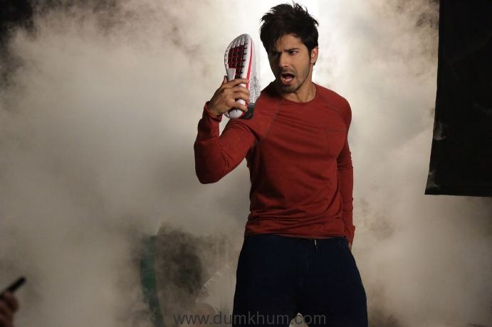 Campus Shoes shoots its new TVC with Youth Icon Varun Dhawan-5