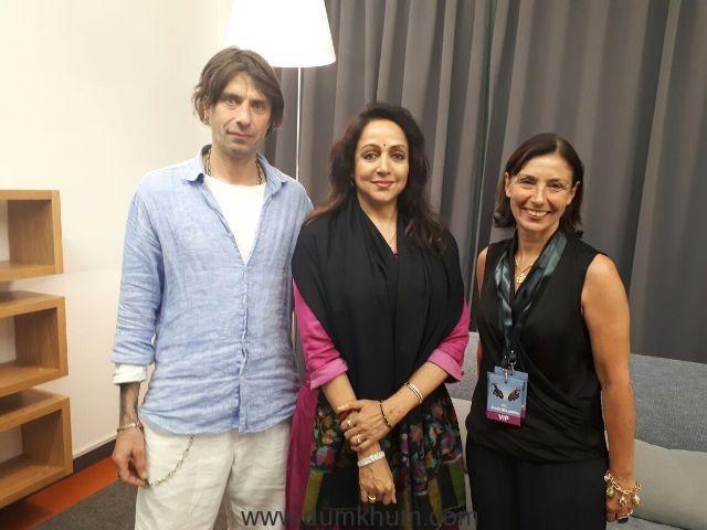Hema Malini becomes Bollywood 'Cultural Ambassador' like Raj Kapoor!