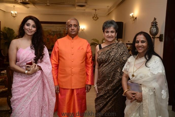 Jai Madaan , Mr. Sanjay Dalmia,Ratan Kaul with a friend