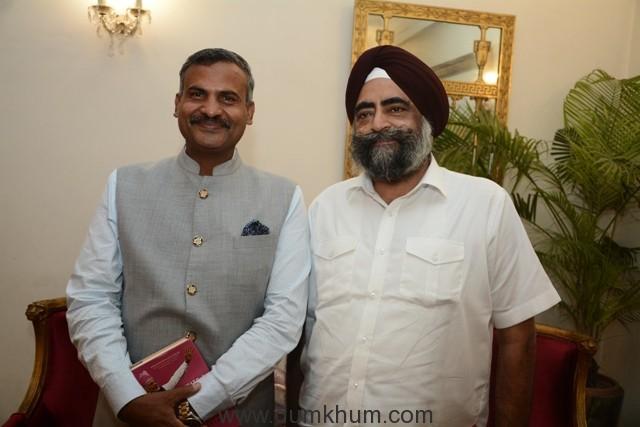 Madan Mohan with Amarjit Singh