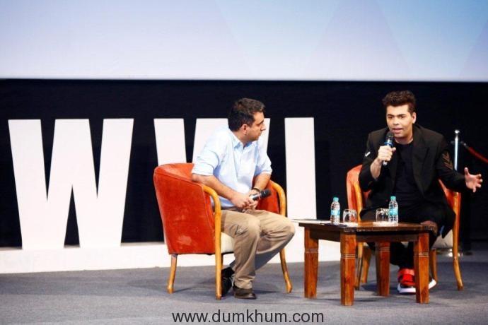 Rahul Puri with Karan Johar
