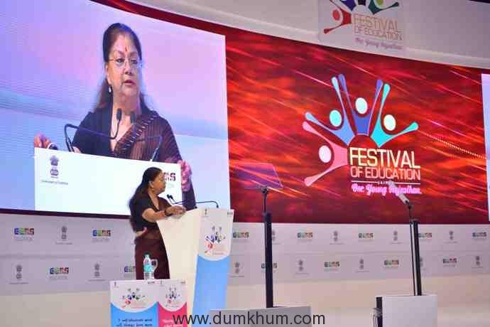 Rt Hon CM of Rajasthan Ms. Vasundhara Raje