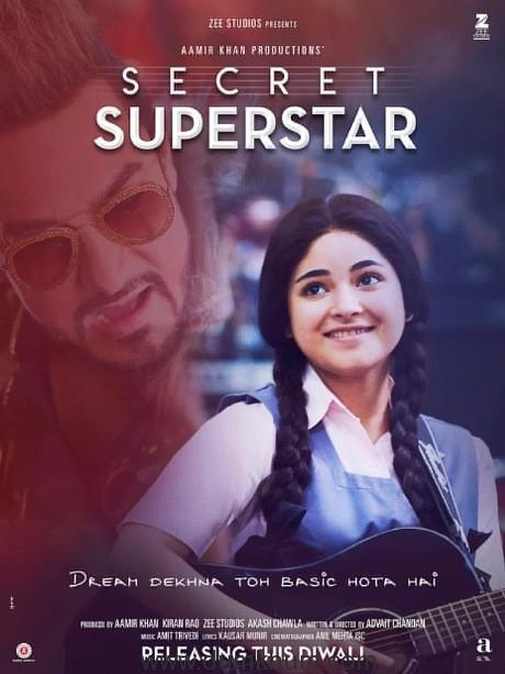 Secret Superstar Film Poster-2