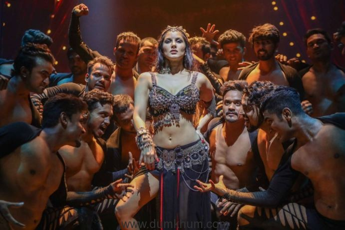 Sunny Leone shoots a special song for Bhoomi