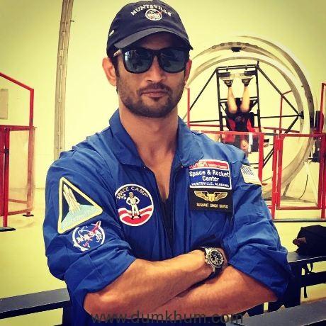Sushant Singh Rajput floors John Palmer and the officials at NASA!
