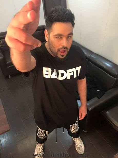 Badshah sports BADFIT in this picture & looks dapper in it!