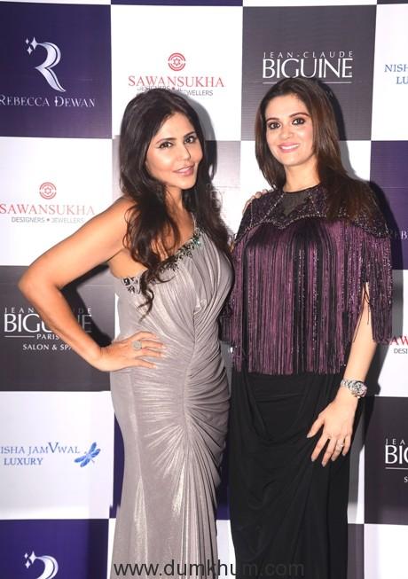 2 Nisha JamVwal & Rebecca Dewan a