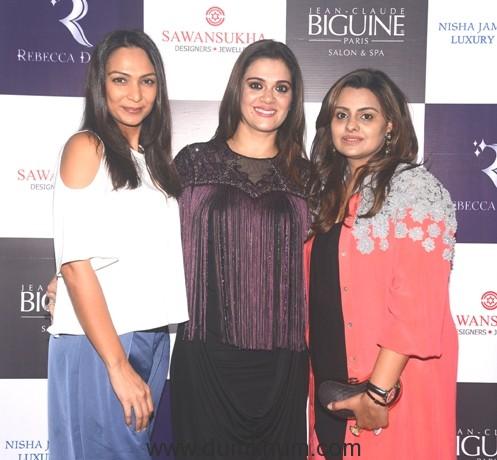 22 Shamita Singha, Rebecca Dewan, Deepshikha Deshmukh