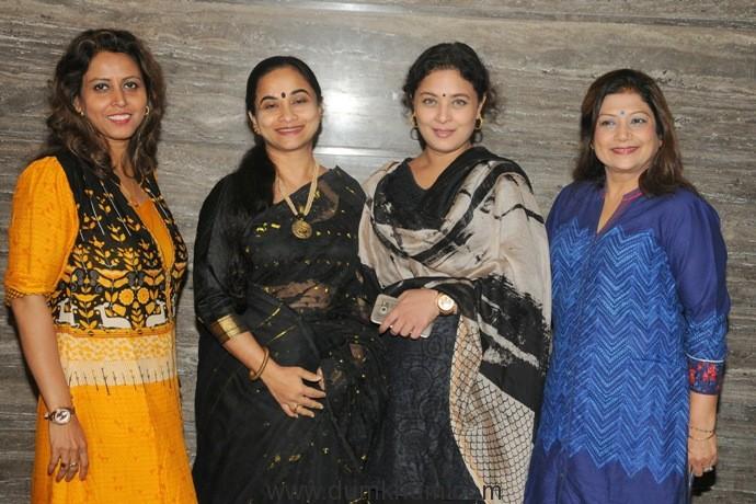 3. Shomu Mitra, Paromita Sarkar, Sharbani Mukherji and Mala Narayan