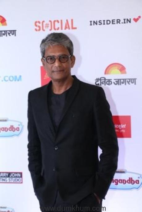 Adil Hussain at the 8th Jagran Film Festival Award Night