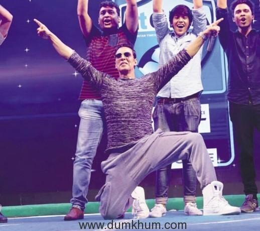 Akshay Kumar at Hindustan Times GIFA event in Delhi