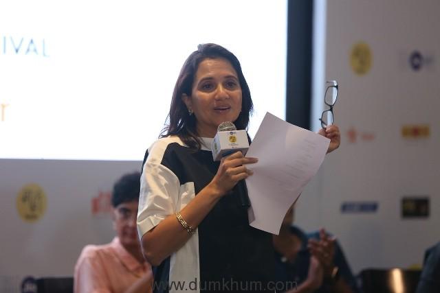 Festival Director-Anupama Chopra talking to media 2