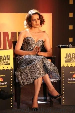 Kangana Ranaut at Jagran Cinema Summit (4)