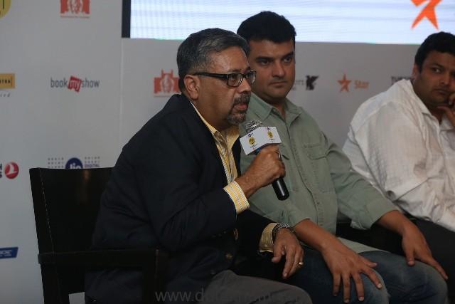 L to R Reliance - Creative Communication Strategy, Filmmaking, Design & Events - Kaushik Roy, Siddharth Roy Kapur, Kaustubh Dhavse