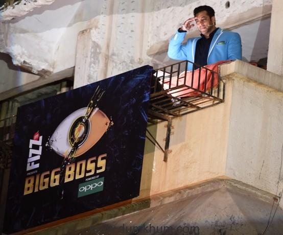 Salman Khan at the launch of COLORS Bigg Boss 11 launch