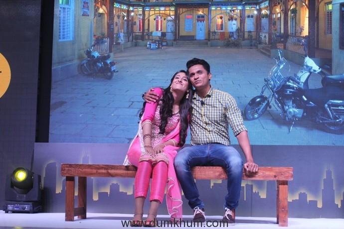 Shivya Pathania (Raavi) and Stavan Shinde (Vishy) at the launch of Zee TV's Dil Dhoondta Hai