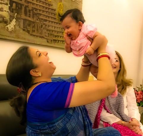 Smriti Irani Met Adnan Sami's Daughter Medina