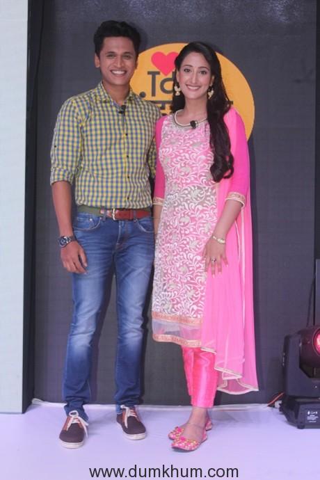 Stavan Shinde (Vishy) and Shivya Pathania (Raavi) from Zee Tv's Dil Dhoondta Hai