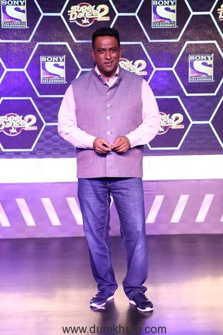 Super Judge Anurag Basu at Super Dancer Chapter 2 Press Conference
