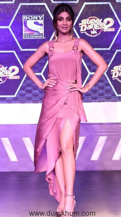 Super Judge Shilpa Shetty Kundra at Super Dancer Chapter 2 Press Confere...