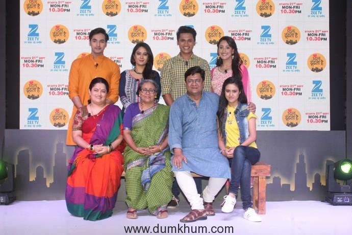 The cast of Zee TV's Dil Dhoondhta Hai