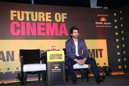 Varun Dhawan at the Jagran Cinema Summit