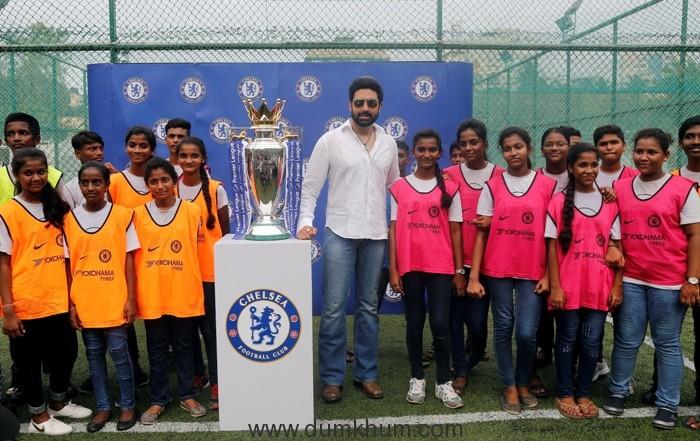 Abhishek Bachchan and Chelsea FC 1