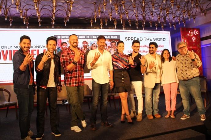 Golmaal 4 team kickstarts the Jio MAMI Movie Mela with 4 times the fun