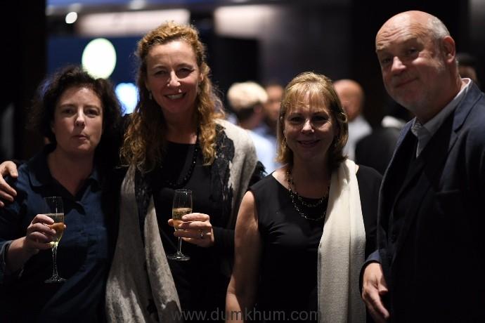 Grainne Humphreys (Artistic Director - Dublin International Film Festival), Diana Iljine, Michele Maheux, Mark Adams (Artistic Director, Edinburgh Film Festival)
