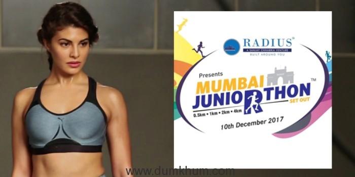 Jacqueline Fernandez Welcomes Mumbai Juniorthon