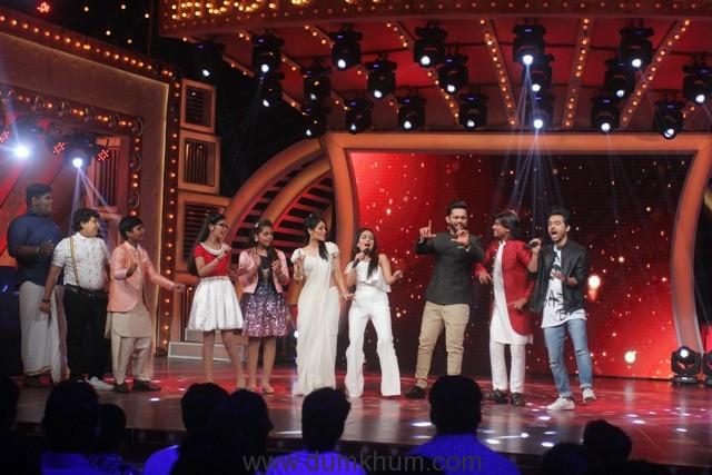 Kakkar siblings on the set of &TV's Music Ki Pathshaala (4)