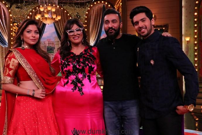 Kanika Kapoor, Archana Puran Singh Raj Kundra & Armaan Malik (2)