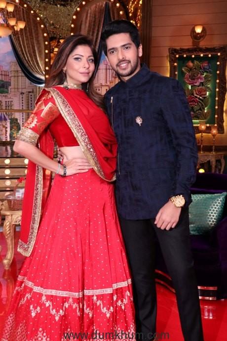 Kanika Kapoor and Armaan Malik on the unique live game show, 'Aunty Boli Lagao Boli'