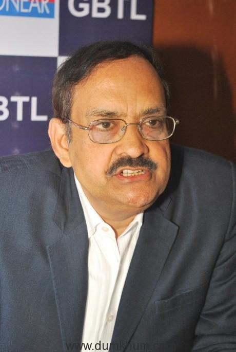 Mr. S Krishnamoorthy, Managing Director of GBTL Ltd.