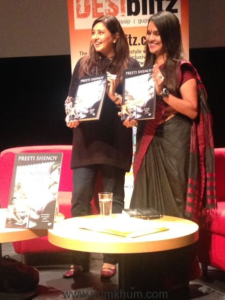Author Preeti Shenoy Unveils The Cover Of Her New Book 'A Hundred Little Flames' At Birmingham Literary Festival 2017