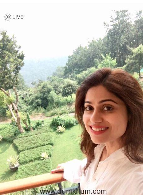 Shamita Shetty off to Ananda for a holiday!--