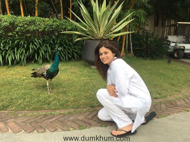 Shamita Shetty off to Ananda for a holiday!
